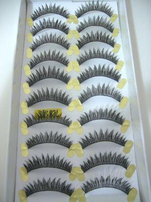 Jaymay Handmade False Eyelashes #728 Extra (10 pairs)