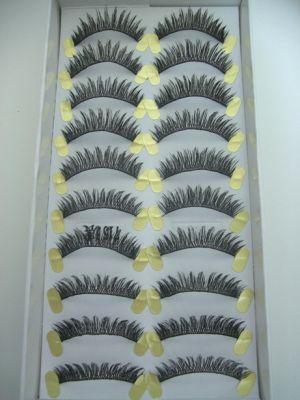Jaymay Handmade Fake Eyelashes #715 Extra (10 pairs)