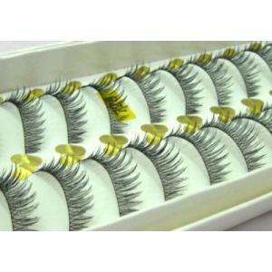 Jaymay Handmade Fake Eyelashes #728 (10 pairs)