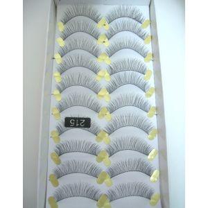 Jaymay Handmade Fake Eyelashes #215 (10 pairs)