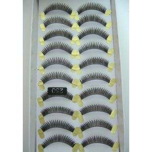 Jaymay Handmade Fake Eyelashes #250 (10 pairs)