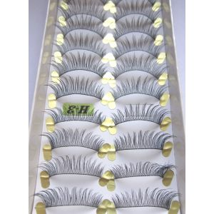Jaymay Handmade Fake Eyelashes #H-3 (10 pairs)