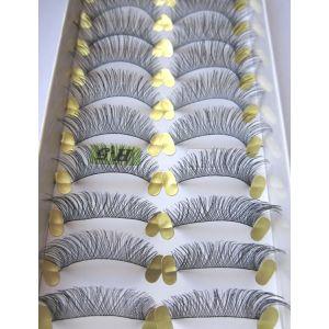 Jaymay Handmade Fake Eyelashes #H-5 (10 pairs)